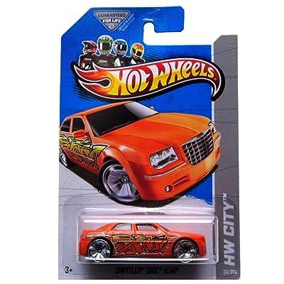 Hot Wheels HW City 33/250 Orange Chrysler 300C Hemi: Toys & Games