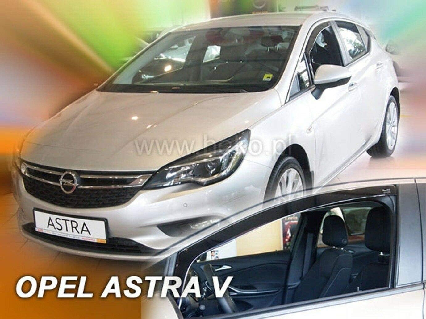 Deflectores de Viento para Opel Astra V K 5 Puertas 2015-pr/és 2 Piezas J/&J AUTOMOTIVE J/&J