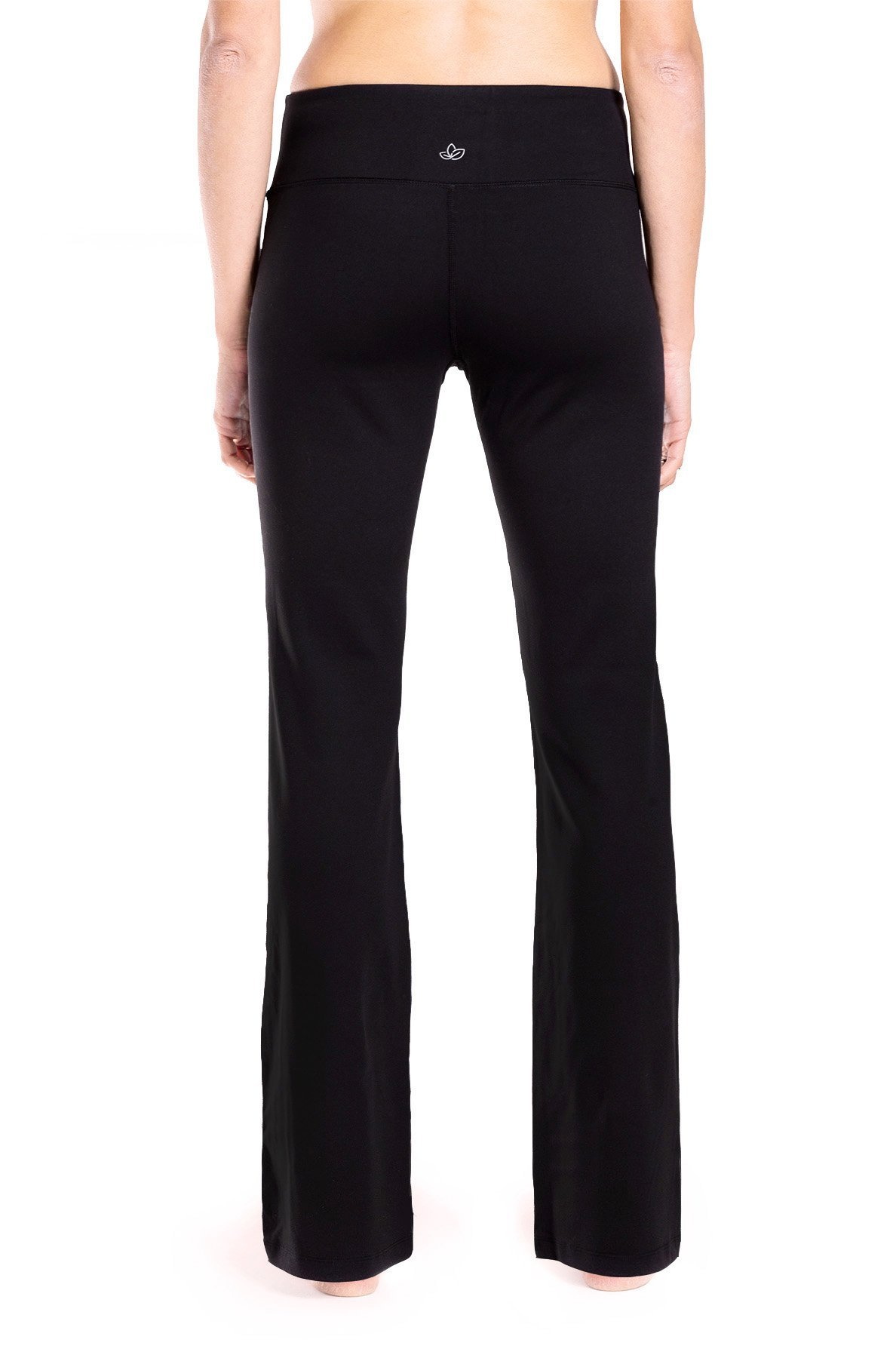 Yogipace 27''/28''/29''/30''/31''/32''/33''/35''/37'' Inseam,Petite/Regular/Tall, Women's Bootcut Yoga Pants Long Workout Pants, 28'', Black Size XS by Yogipace (Image #5)