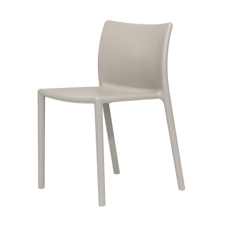 Air-Chair Stuhl   Stapelstuhl beige