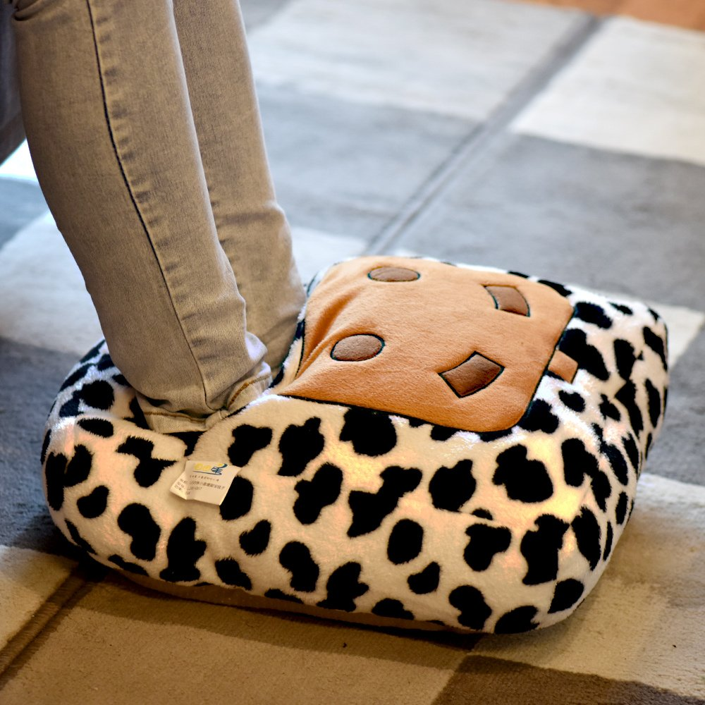 Fashion Cute Style Xmas Plush Soft USB Powered Shoes Foot Warmer Electric Computer Heat Slipper Heated Slippers, USB Heated Slippers, Warming Slippers,Heating Pad, Washable Slipper white Whale