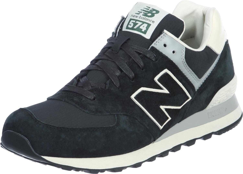 New Balance ML574SRK Zapatillas Moda Sneakers Negro para Hombre: Amazon.es: Deportes y aire libre