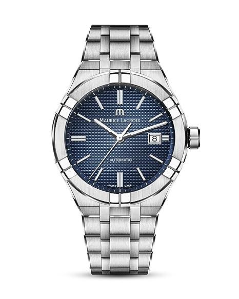 Reloj Automático Maurice Lacroix Aikon Gents, 42 mm, Azul