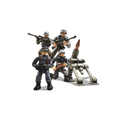 Mega Construx Call Of Duty Axis Troop Pack Building Set: Toys & Games