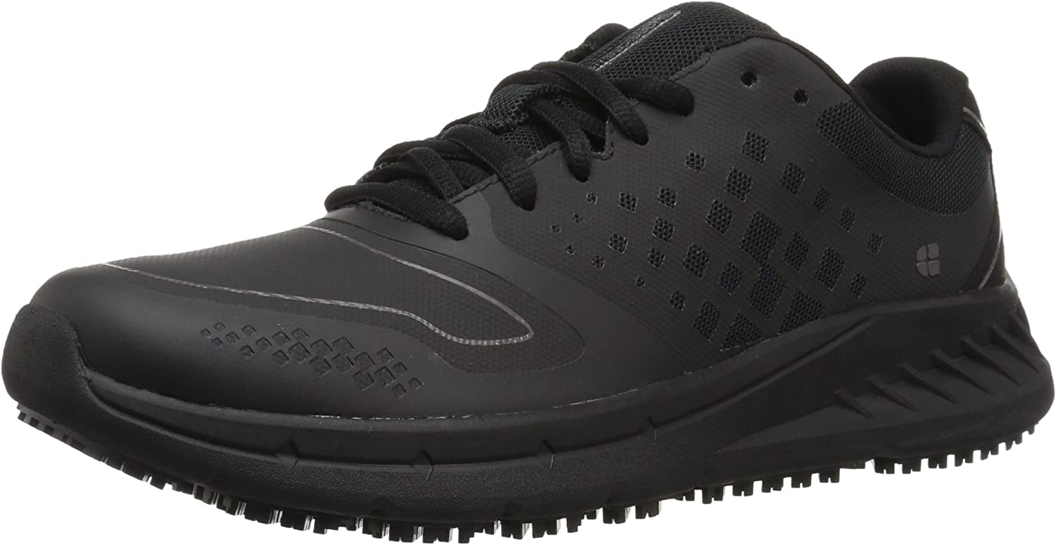 Shoes for Crews Women's Non Slip Flair Black Work Shoes