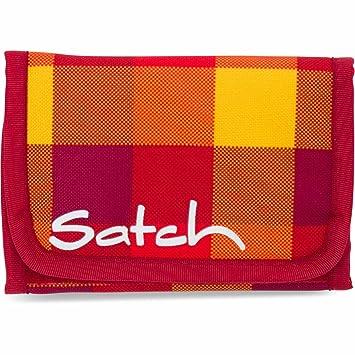 Sonderrabatt von Vereinigte Staaten beste Qualität SATCH Firecracker Münzbörse SAT-WAL-001-9A8, 13 cm, 1 L, Red Yellow Checks