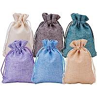 BENECREAT 30 PCS 6 Colores Bolsas de Arpillera