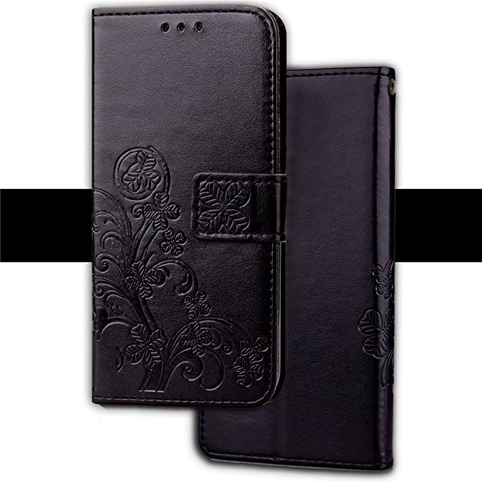 Amazon.com: AICEDA Vodafone Smart Turbo 7 Case,Vodafone Smart Turbo 7 Case,Closed Premium PU Leather Wallet Snap Case Closed Closed Flip Cover for Vodafone ...