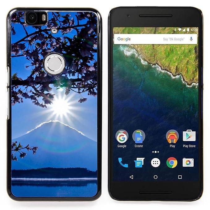 For Huawei Google Nexus 6P Case , Descargar el Monte Fuji- Diseño ...