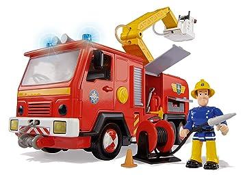Smoby 109251063002 jeu dexploration sam le pompier camion