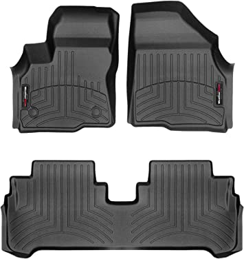 GGBAILEY D3121A-F1A-BLK/_BR Custom Fit Car Mats for 2001 2003 Ford Escort Coupe Black with Red Edging Driver /& Passenger Floor 2002