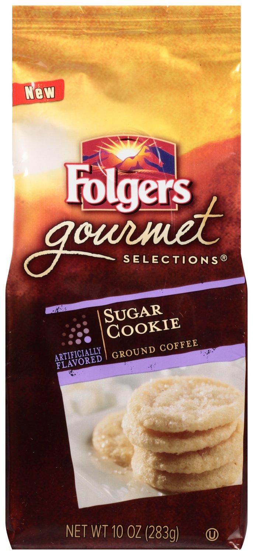 amazon com folgers sugar cookie flavored ground coffee 10 ounce amazon com folgers sugar cookie flavored ground coffee 10 ounce grocery gourmet food