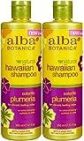 Alba Botanica Hawaiian Replenishing Hair Wash - Plumeria - 12 oz - 2 pk