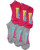 PUMA Womens Low Cut Socks 6 Pair