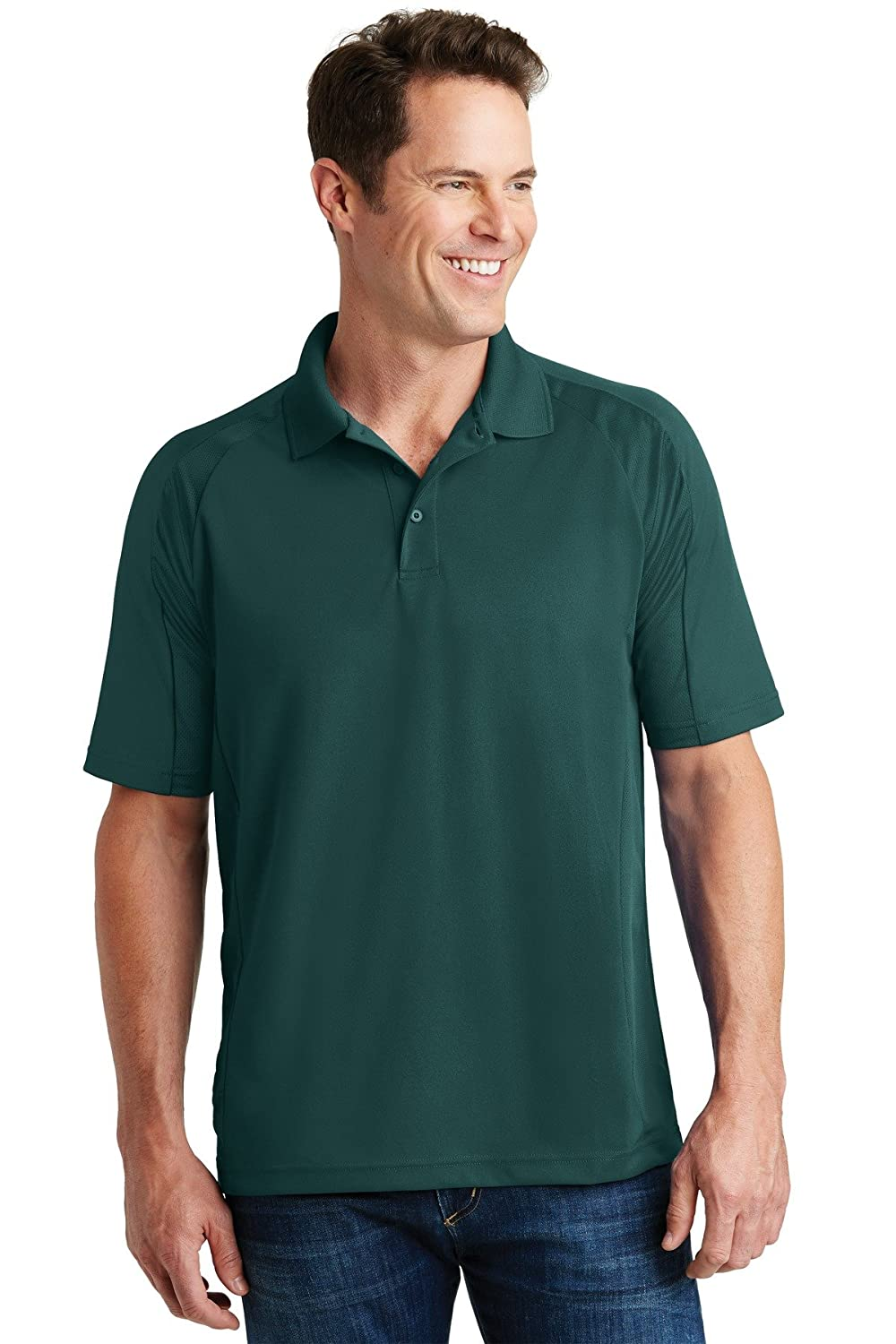 2XL Sport-Tek Dri-Mesh Pro Polo Shirt Dark Green