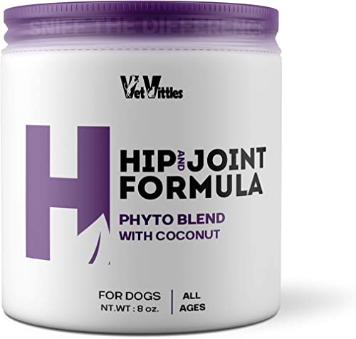 VetVittles H Formula Phyto Blend for Dogs – Supports Hips and Joints, Protects Bones, and Promotes Flexibility