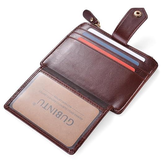 9 opinioni per Porta Carte di Credito e Tasche Pelle, RFID/NFC Blocco Portafoglio Bifold Magico