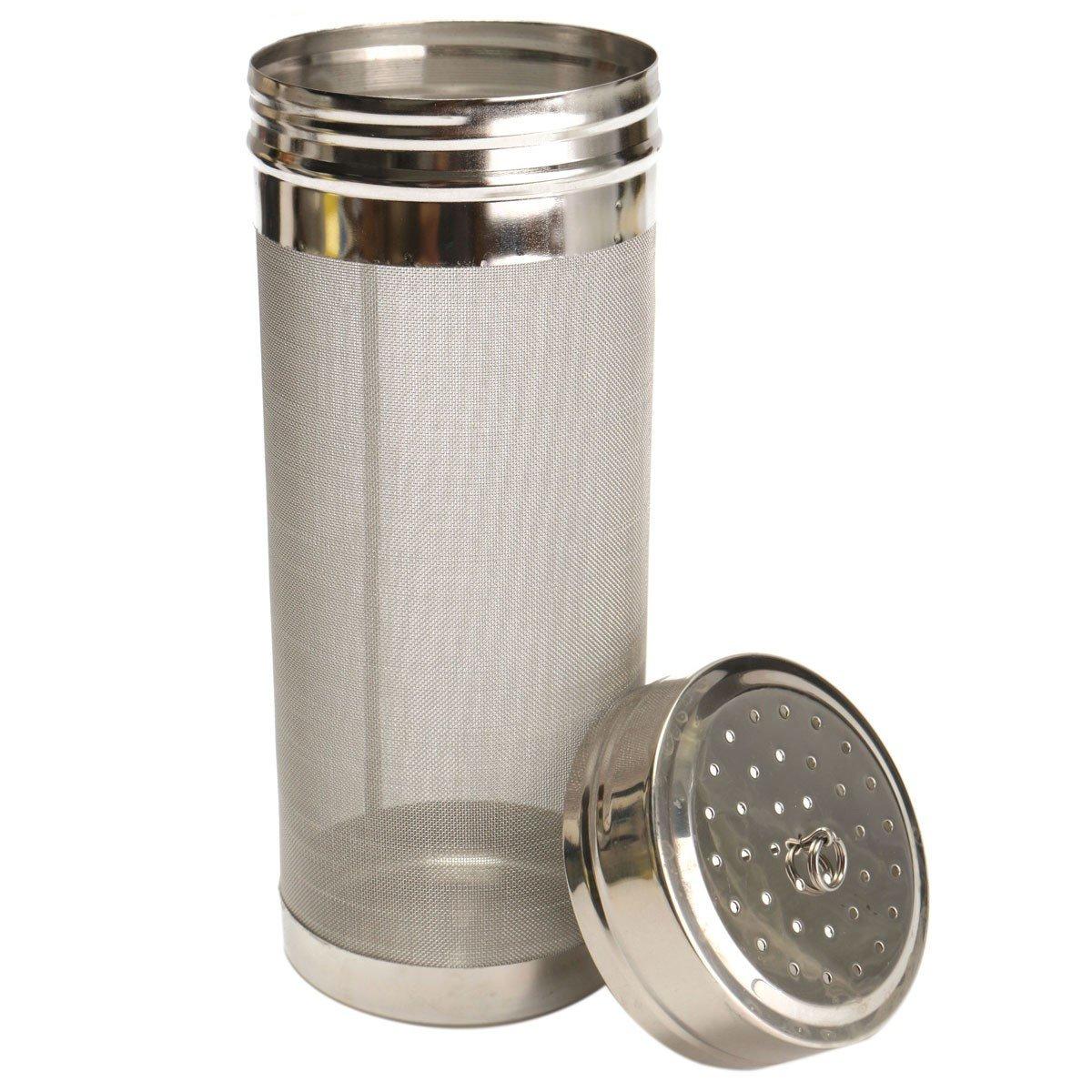 Mesh Stainless Steel Hop Filter Strainer 70x180mm Home Beer Wine Brew Pellet Hop Filter Filtering Brew Kettle Barware Tools Kangsanli