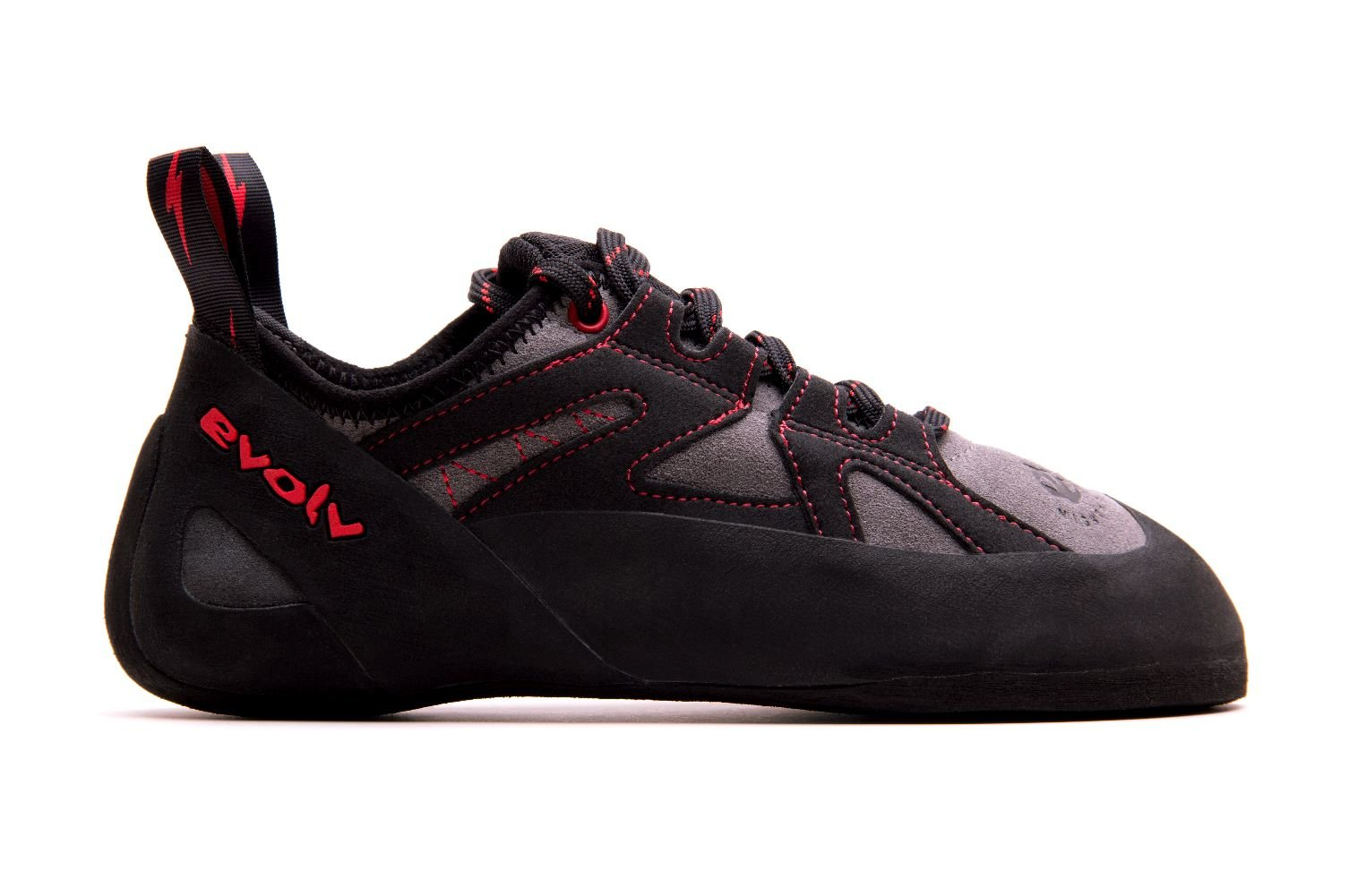 Evolv Nighthawk Climbing Shoe - Men's Gray/Black 7
