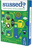 SUSSED Emotional Intelligence (Hilarious Family Friendly Conversation Card Game) (Find Out Who Knows Who Best)