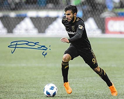 956649e4d Image Unavailable. Image not available for. Color  Diego Rossi Autographed  Photo - Club LAFC 8x10 MLS ...