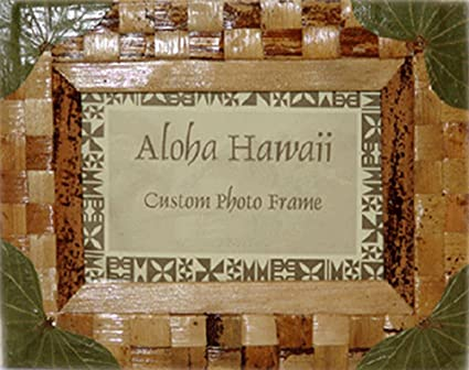 Amazon.com - Sea Grape & Woven Banana Picture Frame (4\