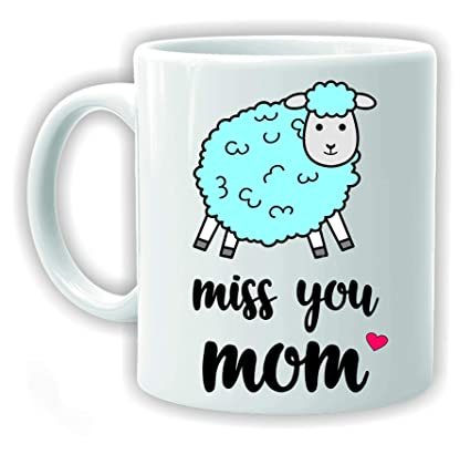 Buy Ezellohub Happy Birthday Gift For Mom Printed Coffee Mug Miss You Online At Low Prices In India
