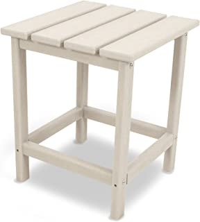 """product image for POLYWOOD ECT18SA Long Island 18"""" Side Table, Sand"""