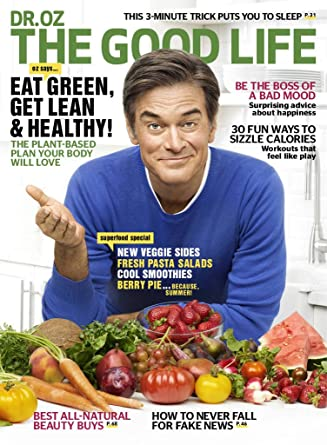 Dr. Oz The Good Life Print Magazine