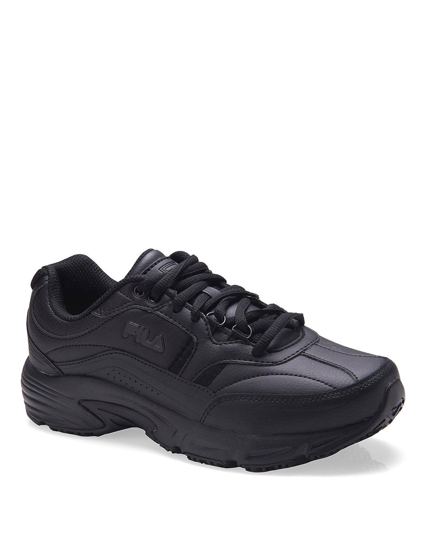 Fila Women's Memory Workshift Slip Resistant Work Shoe B07D7JH6LM 09H|Black