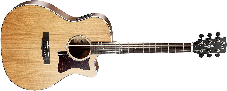 Guitarra electroacustica Cort GA5F BW NS: Amazon.es: Instrumentos ...
