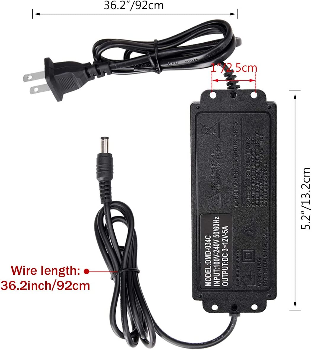 AC//DC Wall Power Adapter 100//240VAC TO 9VDC @1.2amps