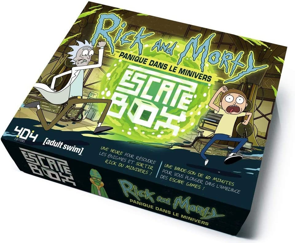 Escape Box Rick Et Morty . Panique Dans Le Minivers: Amazon.es: Juguetes y juegos