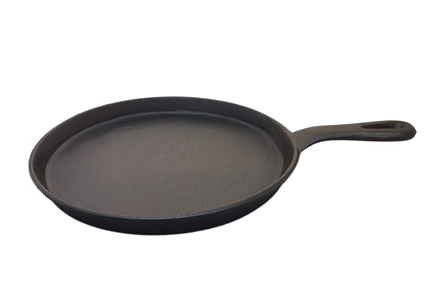 eKitchen Pre-Seasoned Cast Iron Flat Tawa/Pan/dosa kal