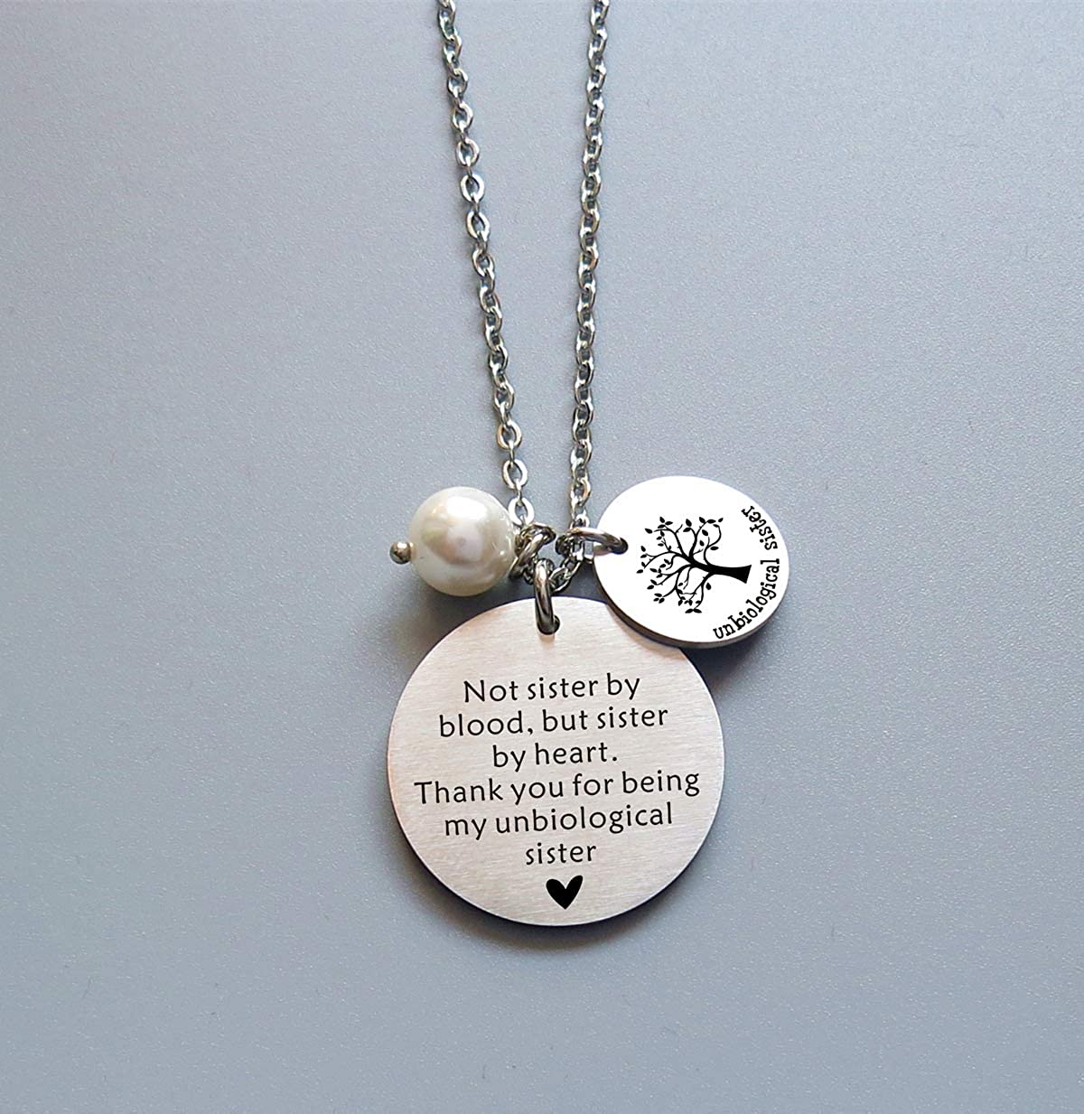 Friendship Necklace for Women Girls Soul Sisters Gifts for BFF Friends Jewelry Love for Her
