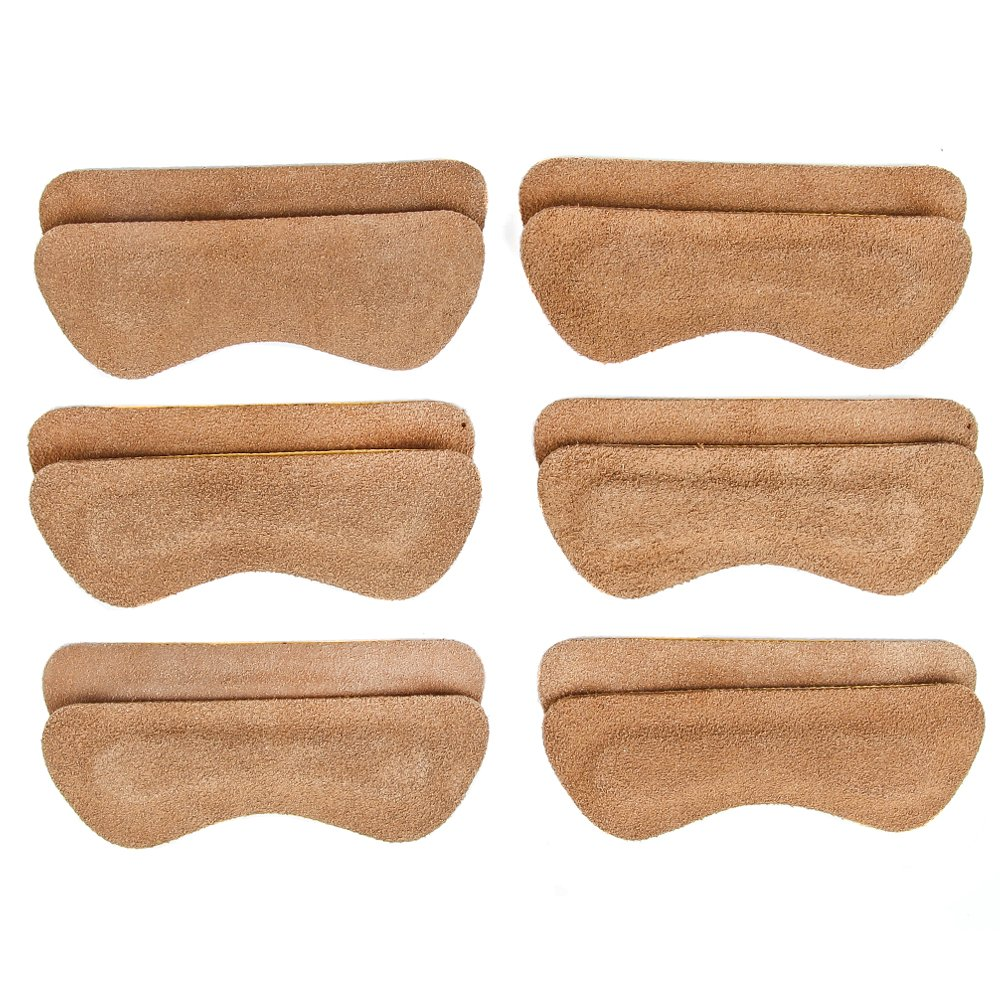 Heel Lovers High Heel Grip Cushion Pads - Brown - 6 Pair by Heel Lovers (Image #2)