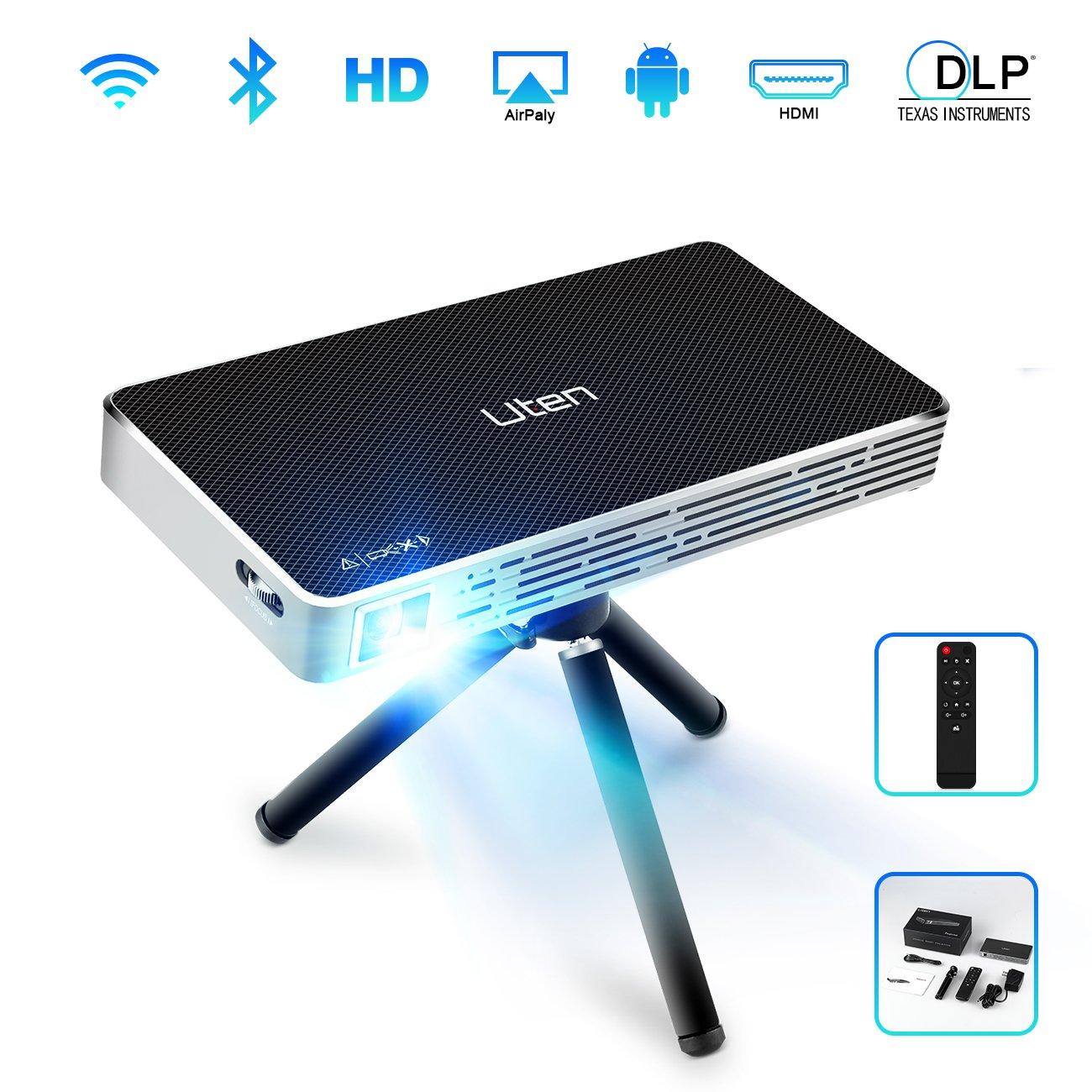 Mini Beamer DLP Projektor, Uten Tragbarer Heimbeamer: Amazon.de ...