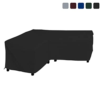 Magnificent Amazon Com Covers All Patio Sectional Sofa Cover 18 Oz Pdpeps Interior Chair Design Pdpepsorg