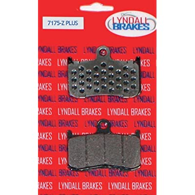 Lyndall Brakes Front Brake Pads for Victory Models 7175-ZPLUS: Automotive
