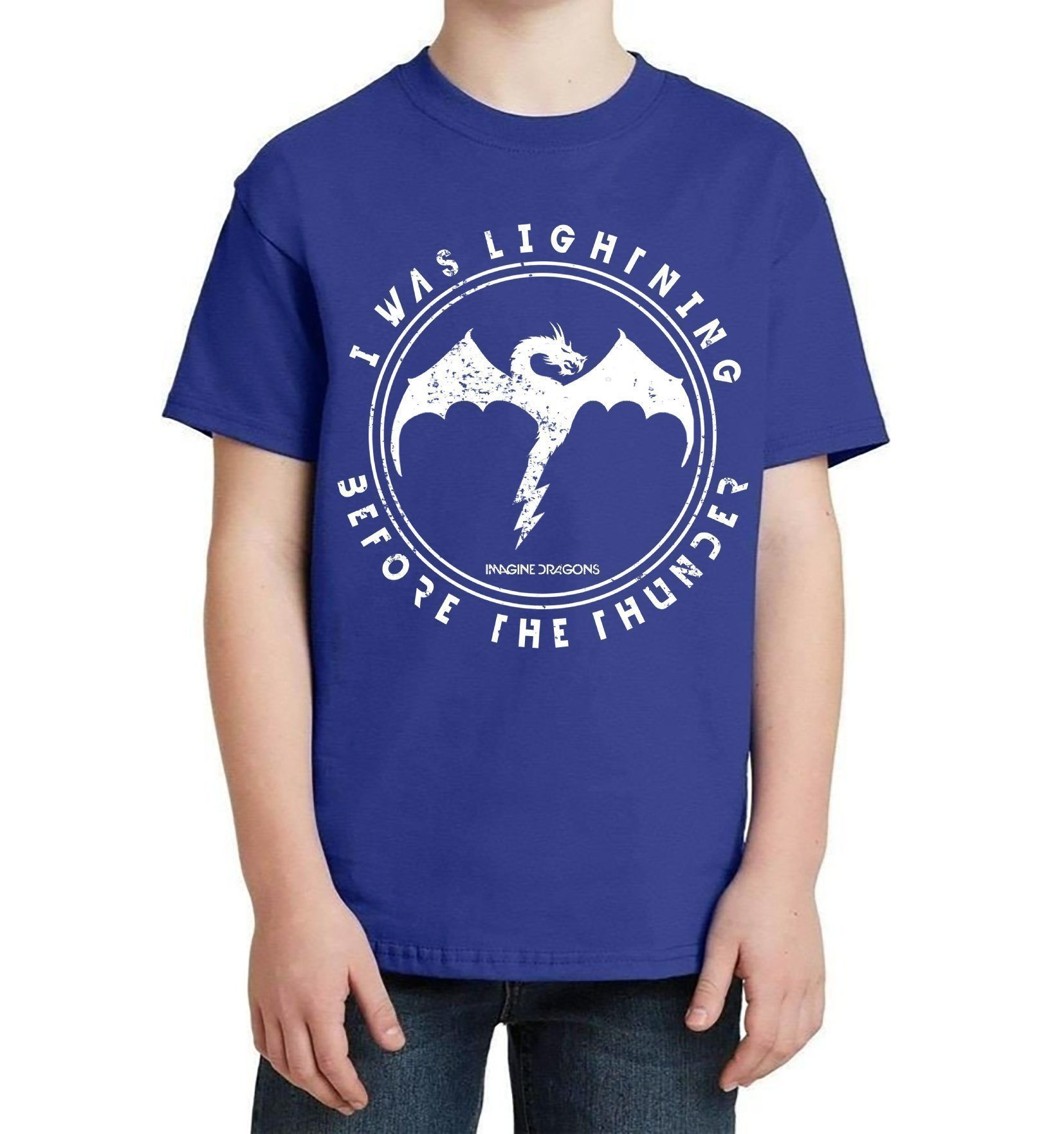 Imagine Dragons Kids T-Shirt - Imagine Dragons TShirt - Imagine Dragons Kids Tee Shirt - Thunder Lyrics - Imagine Dragons Youth Shirt - Childrens Tee Shirt