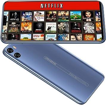 Smartphone Libres 4G, P26(2019) 5.9 Pulgadas 19:9 FHD, 4GB RAM+64GB ROM Android 8.1 Face Unlock Cámara 12MP 4200mAh Moviles Libres Baratos 4G Apoyo:hot spot y GPS Moviles Baratos y buenos (Blu): Amazon.es: