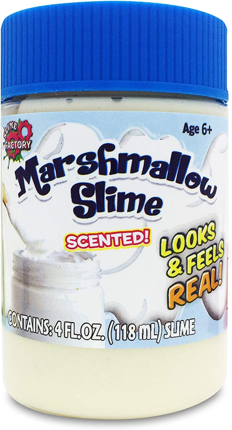 Magic time Interantional 5527455 3 Pack Food Slime Icing, Marshmallow, Hot Fudge, Multicolor