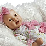Paradise Galleries Real Life Baby Doll That Looks Real - Layla in FlexTouch Silicone Like Vinyl, 21 inch Reborn Girl