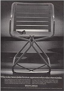 RelicPaper 1973 Brown Jordan Furniture: Makes Brown Jordan Expensive, Brown Jordan Print Ad