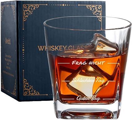Vasos de whisky, vasos de whisky, vasos para buenos y malos ...