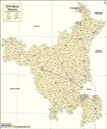 Haryana Map (48