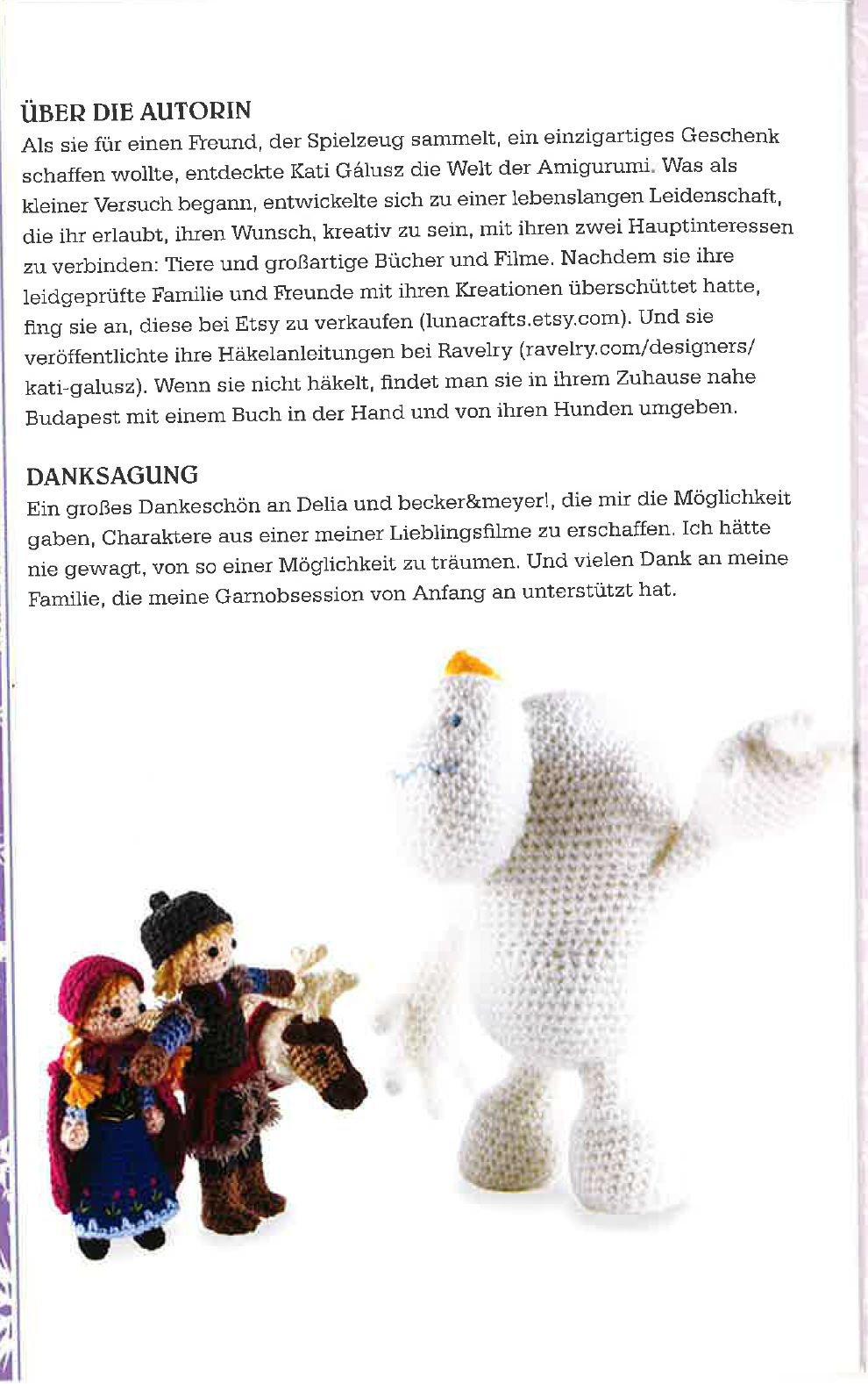Disney Die Eiskönigin: Häkelset: Häkelbuch mit allen passenden ...