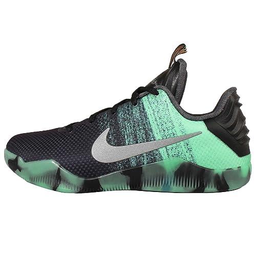 Nike Kobe XI AS (GS), Zapatillas de Baloncesto para Niños, Verde/Negro / Morado (Green Glow/Black-PRSN Violet), 38 EU: Amazon.es: Zapatos y complementos