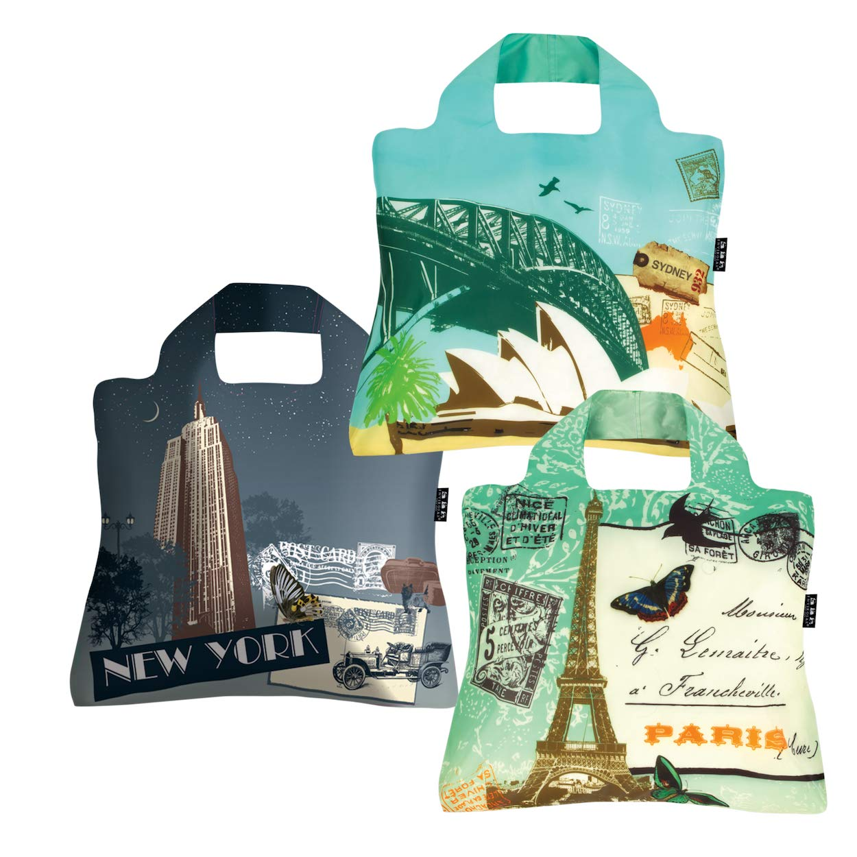 The Reusable Grocery Bags travel product recommended by Belinda Coker on Lifney.