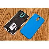 Case Creation TM Premium OEM Shell Replacement Battery Door Back Cover Back Glass Housing Back Panel case for Motorola Moto G4 Plus / Moto G 4 + / Moto G Plus, 4th Gen / Moto G4+ (2016) / MotoG4Plus ( Color - Ocean Sky Blue )
